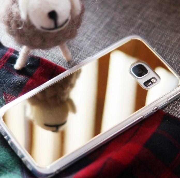 Husa Ringke MIRROR ROYAL GOLD pentru Samsung Galaxy S7 Edge 1