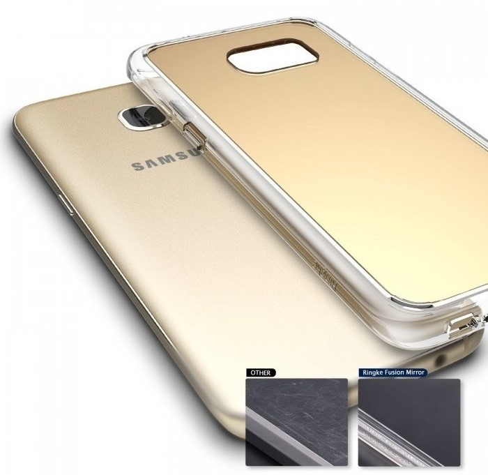 Husa Ringke MIRROR SILVER pentru Samsung Galaxy S7 Edge 6