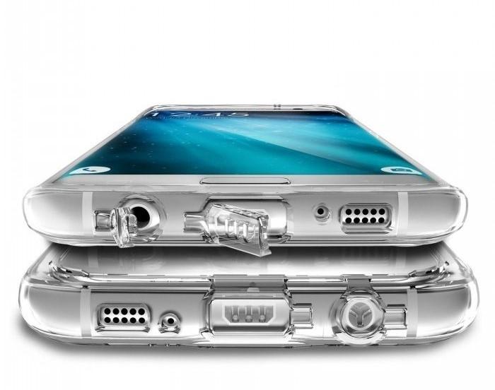 Husa Ringke MIRROR SILVER pentru Samsung Galaxy S7 Edge 5