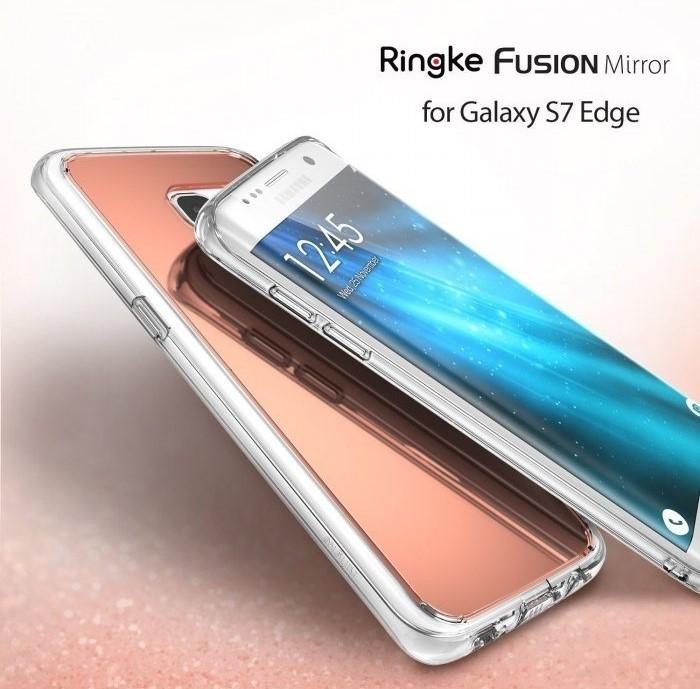 Husa Ringke MIRROR SILVER pentru Samsung Galaxy S7 Edge 4