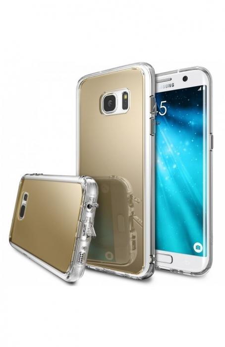 Husa Ringke MIRROR SILVER pentru Samsung Galaxy S7 Edge 0