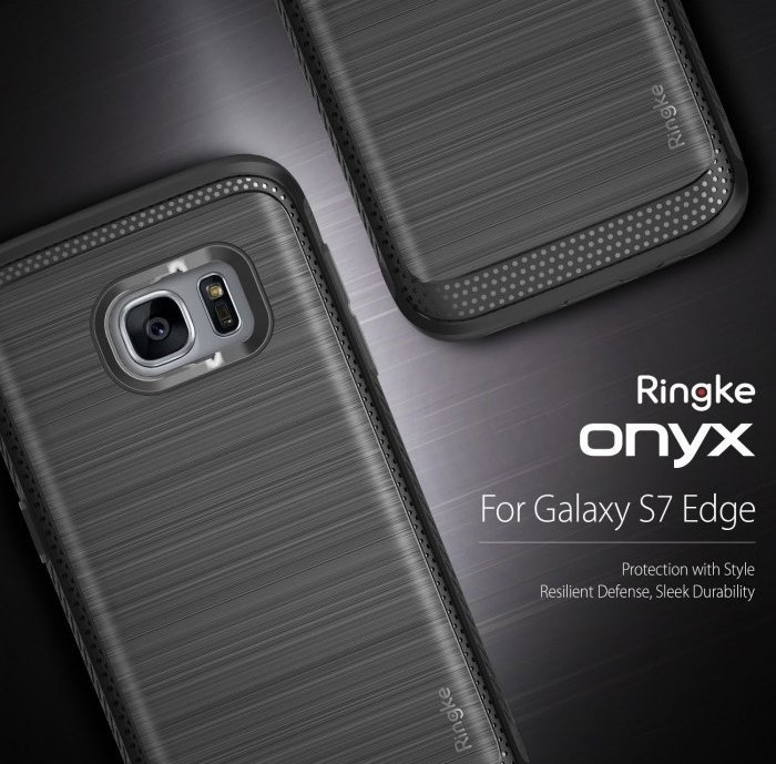 Husa Ringke ONYX MIST GREY pentru Samsung Galaxy S7 Edge 6