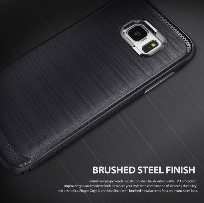 Husa Ringke ONYX MIST GREY pentru Samsung Galaxy S7 Edge 3
