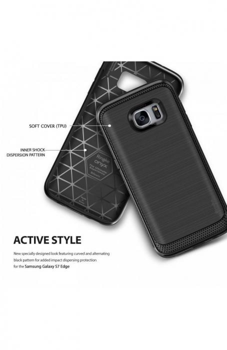 Husa Ringke ONYX MIST GREY pentru Samsung Galaxy S7 Edge 2