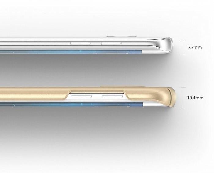 Husa Ringke Slim SF BLACK pentru Samsung Galaxy S7 Edge 6