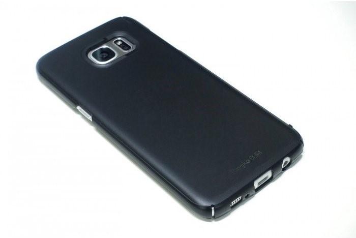 Husa Ringke Slim SF BLACK pentru Samsung Galaxy S7 Edge 4