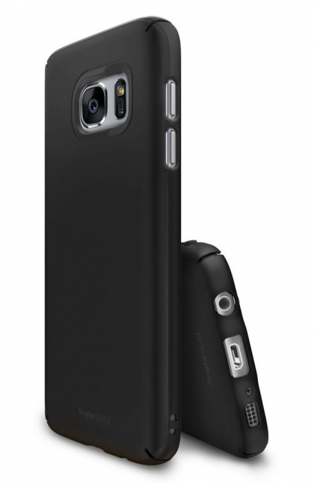 Husa Ringke Slim SF BLACK pentru Samsung Galaxy S7 Edge 3