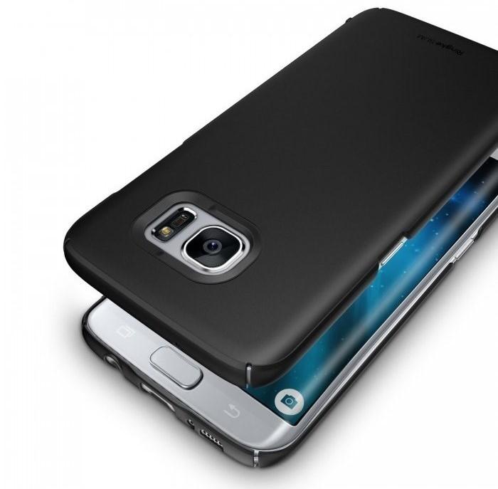 Husa Ringke Slim SF BLACK pentru Samsung Galaxy S7 Edge 0