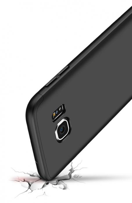 Husa GKK 360 Argintiu pentru Samsung Galaxy S7 5