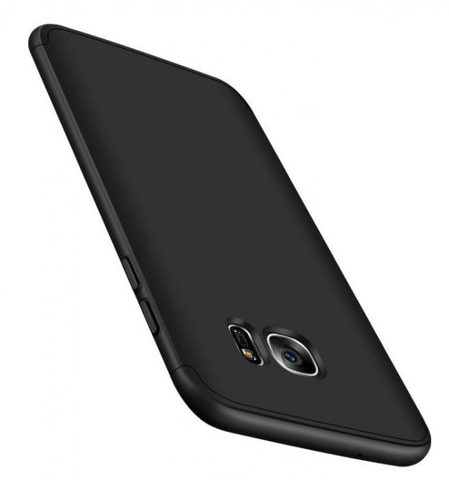 Husa GKK 360 Argintiu pentru Samsung Galaxy S7 3
