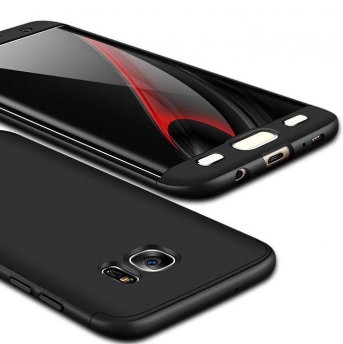 Husa GKK 360 Argintiu pentru Samsung Galaxy S7 1