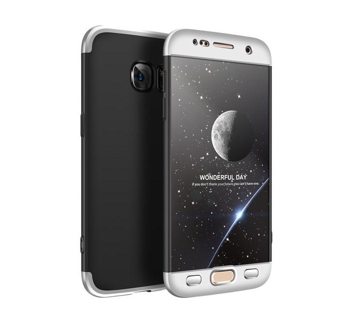 Husa GKK 360 Argintiu pentru Samsung Galaxy S7 0