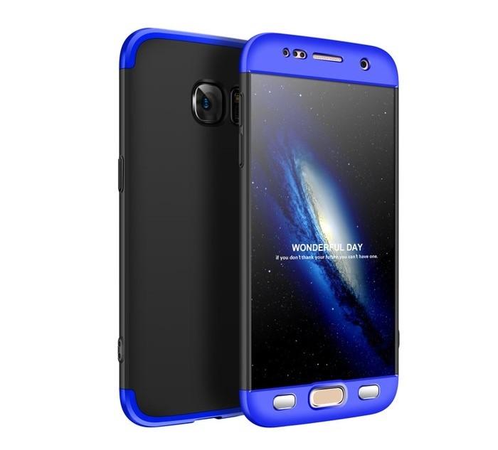 Husa GKK 360  Albastru pentru Samsung Galaxy S7 0