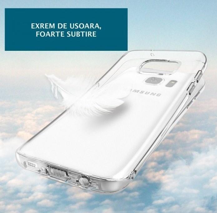 Husa Ringke AIR CRYSTAL VIEW + BONUS folie protectie display Ringke pentru Samsung Galaxy S7 3