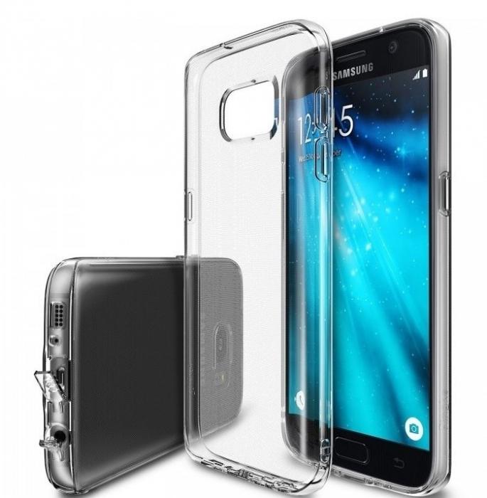 Husa Ringke AIR CRYSTAL VIEW + BONUS folie protectie display Ringke pentru Samsung Galaxy S7 1