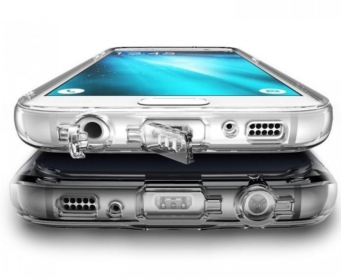 Husa Ringke FUSION CRYSTAL VIEW TRANSPARENT pentru Samsung Galaxy S7 0