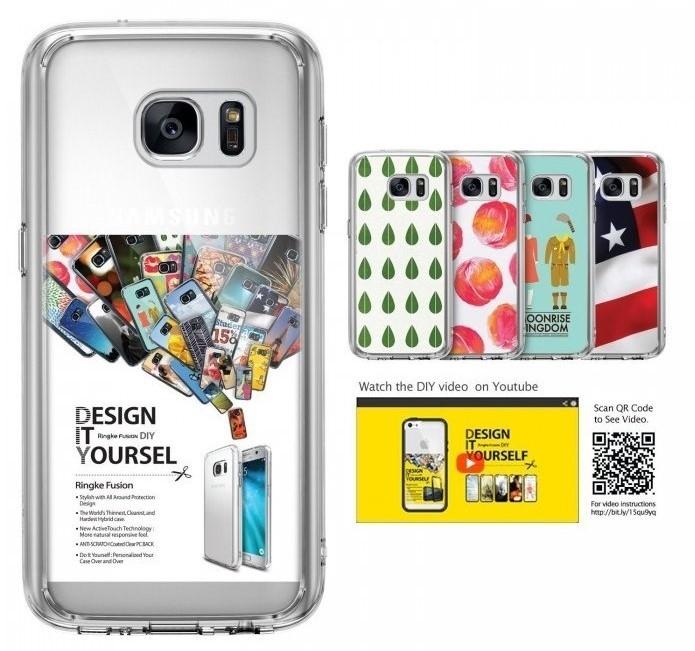 Husa Ringke FUSION CRYSTAL VIEW TRANSPARENT pentru Samsung Galaxy S7 3