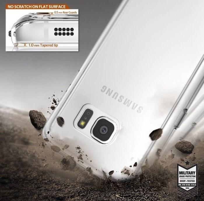 Husa Ringke FUSION CRYSTAL VIEW TRANSPARENT pentru Samsung Galaxy S7 6