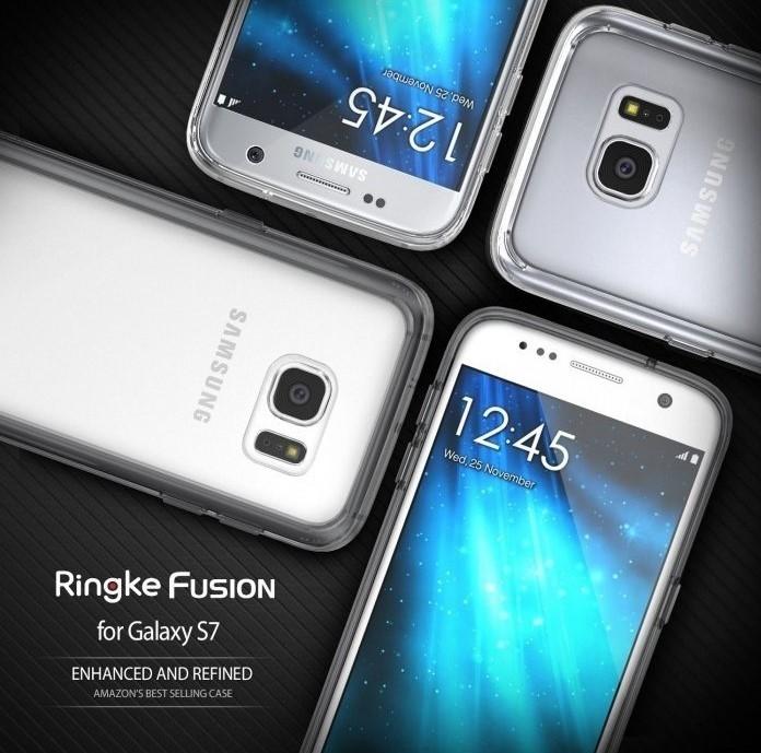 Husa Ringke FUSION CRYSTAL VIEW TRANSPARENT pentru Samsung Galaxy S7 7