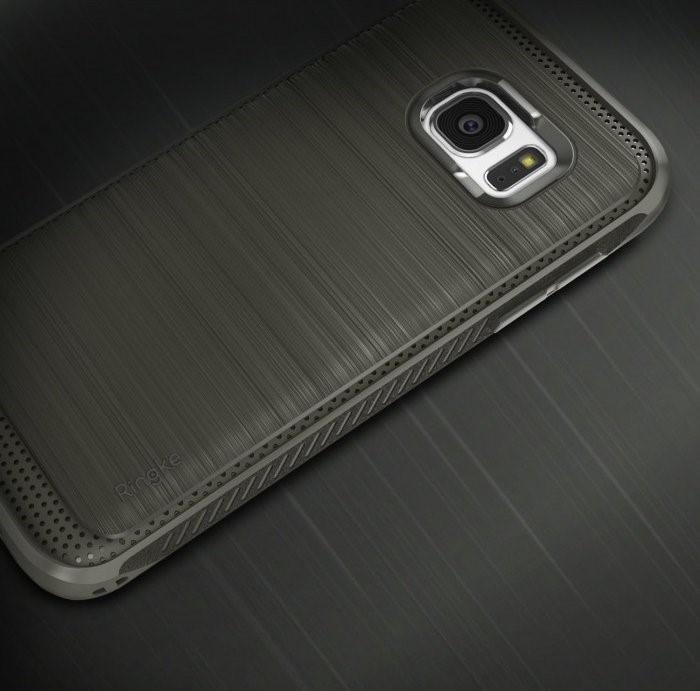 Husa Ringke ONYX MIST GREY + folie Ringke cadou pentru Samsung Galaxy S7 3