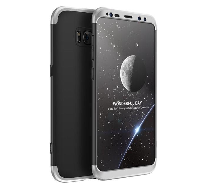Husa GKK 360 Silver pentru Samsung Galaxy S8 0