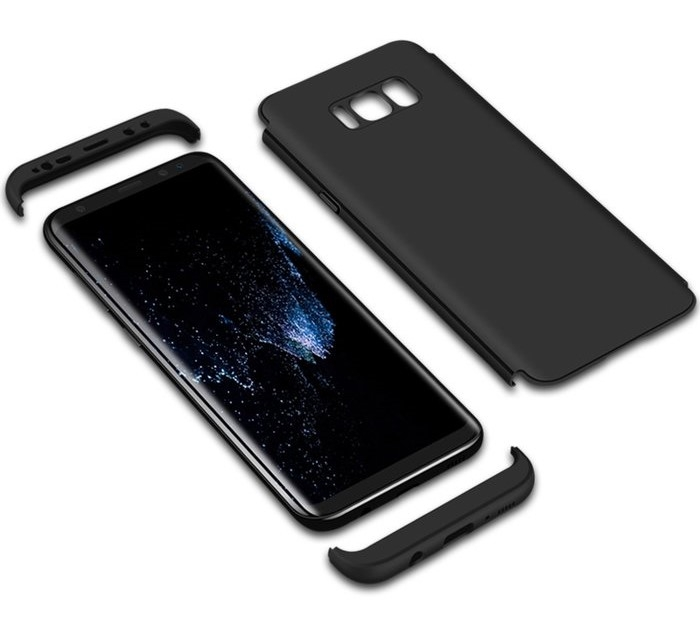 Husa GKK 360 Silver pentru Samsung Galaxy S8 Plus 7
