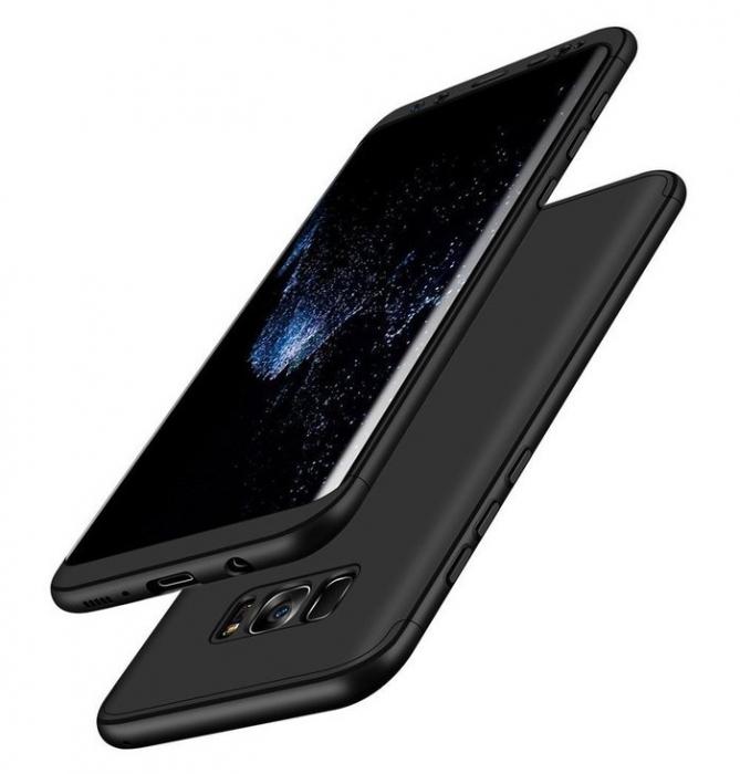 Husa GKK 360 Blue pentru Samsung Galaxy S8 Plus 4