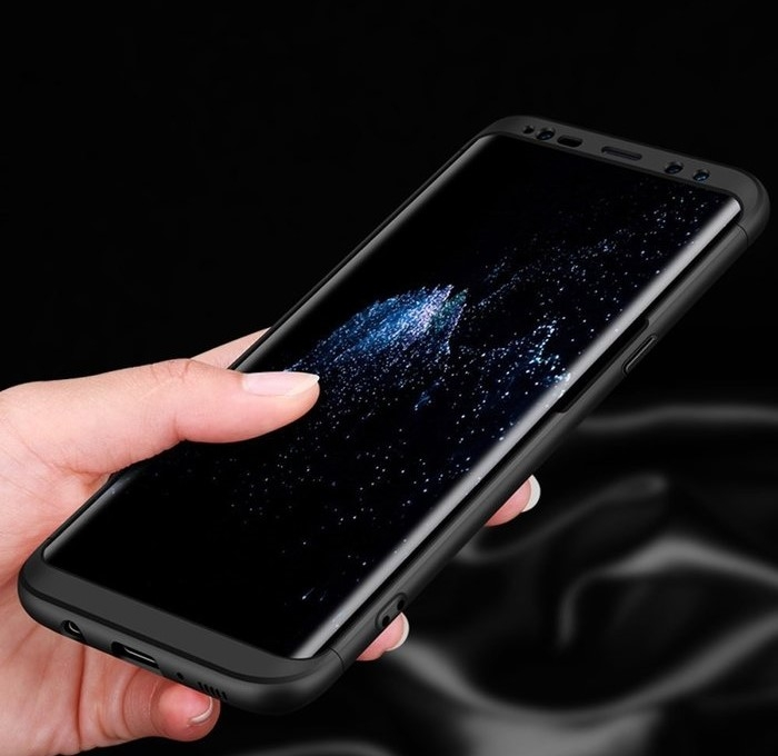 Husa GKK 360 Blue pentru Samsung Galaxy S8 Plus 2