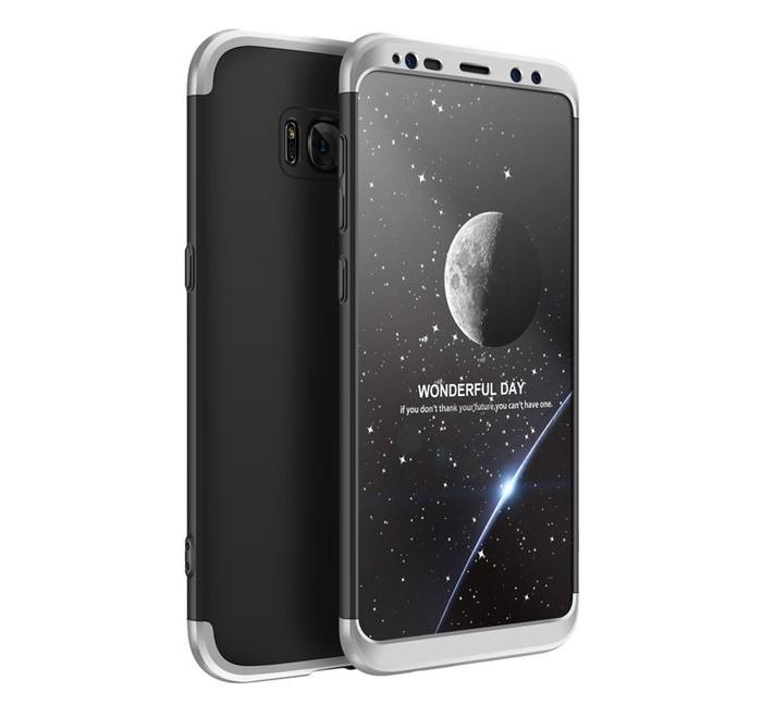 Husa GKK 360 Silver pentru Samsung Galaxy S8 Plus 0