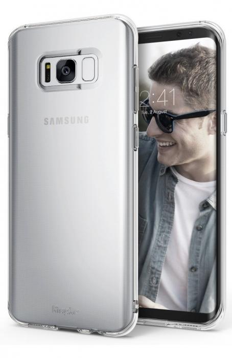 Husa Ringke Air Clear pentru Samsung Galaxy S8 Plus 0