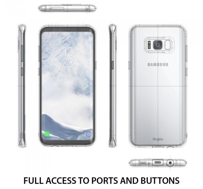 Husa Ringke Air Clear pentru Samsung Galaxy S8 Plus 4
