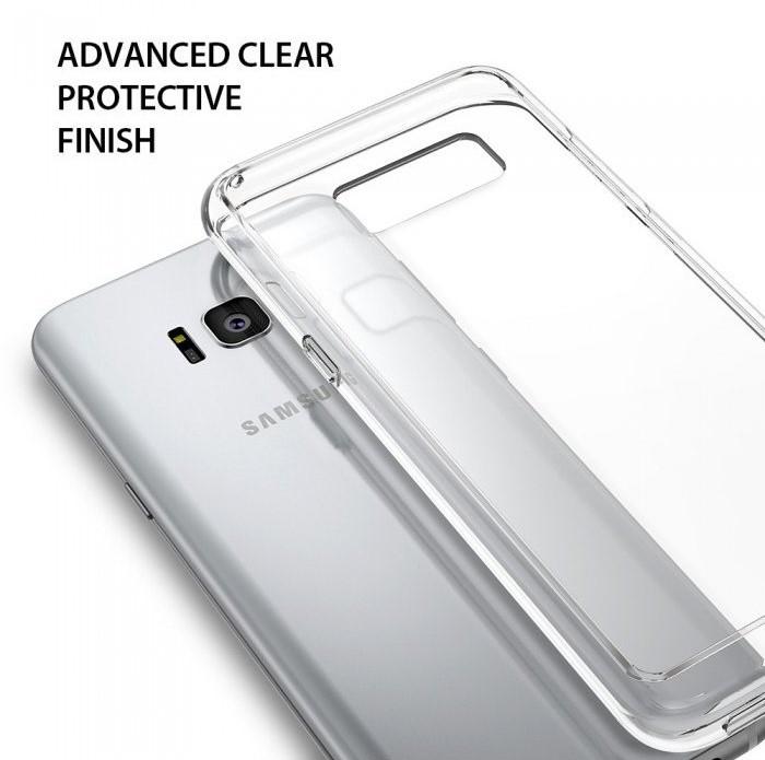 Husa Ringke Fusion Clear pentru Samsung Galaxy S8 Plus 0