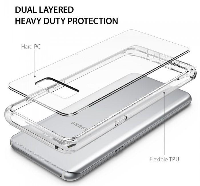 Husa Ringke Fusion Clear pentru Samsung Galaxy S8 Plus 1