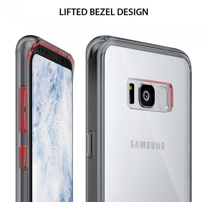 Husa Ringke Fusion Rose Gold pentru Samsung Galaxy S8 Plus 6