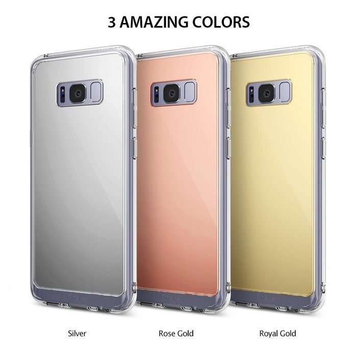 Husa Ringke MIRROR ROYAL GOLD pentru Samsung Galaxy S8 Plus 6