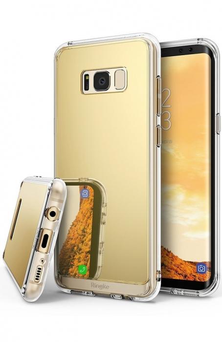 Husa Ringke MIRROR ROYAL GOLD pentru Samsung Galaxy S8 Plus 0