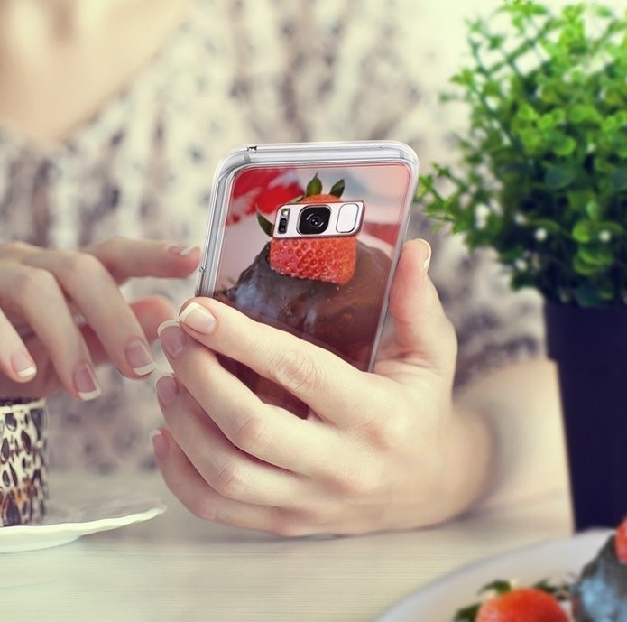 Husa Ringke MIRROR SILVER pentru Samsung Galaxy S8 Plus 8