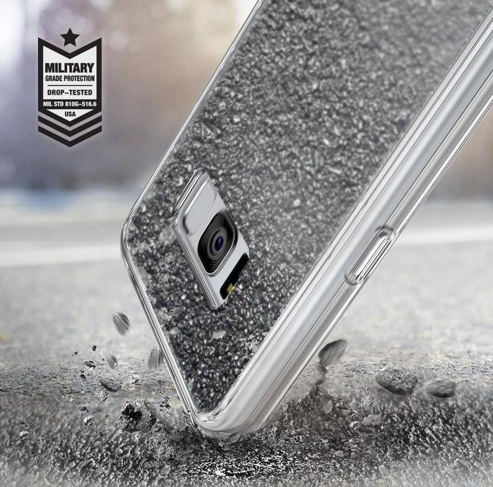 Husa Ringke MIRROR SILVER pentru Samsung Galaxy S8 Plus 6