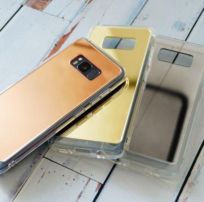 Husa Ringke MIRROR SILVER pentru Samsung Galaxy S8 Plus 4