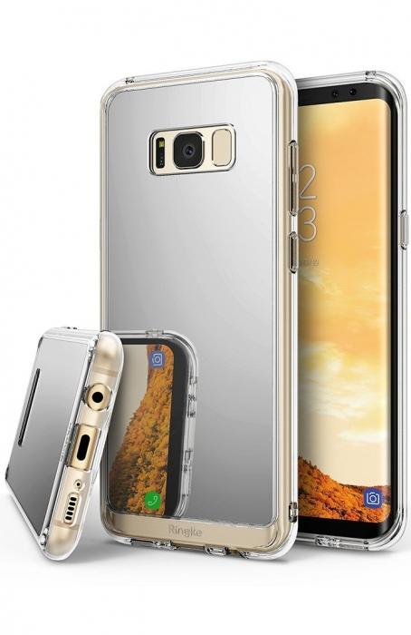 Husa Ringke MIRROR SILVER pentru Samsung Galaxy S8 Plus 0