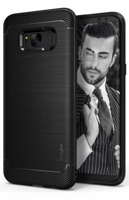 Husa Ringke Onyx Black pentru Samsung Galaxy S8 Plus 0