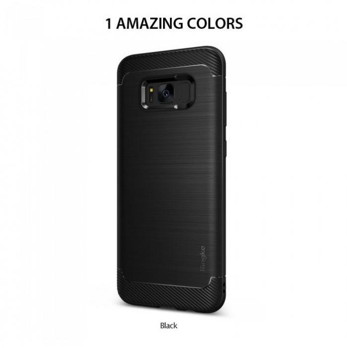 Husa Ringke Onyx Black pentru Samsung Galaxy S8 Plus 1
