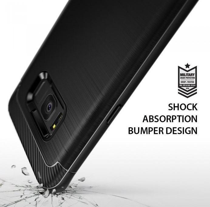 Husa Ringke Onyx Black pentru Samsung Galaxy S8 Plus 2