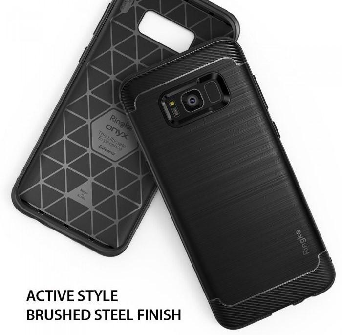 Husa Ringke Onyx Black pentru Samsung Galaxy S8 Plus 3