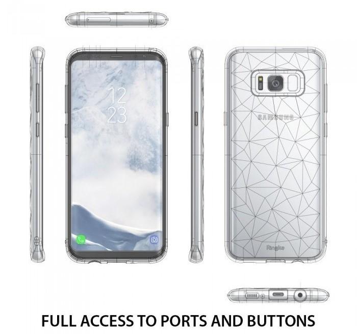 Husa Ringke Prism Clear pentru Samsung Galaxy S8 Plus 2