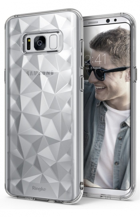 Husa Ringke Prism Clear pentru Samsung Galaxy S8 Plus 0
