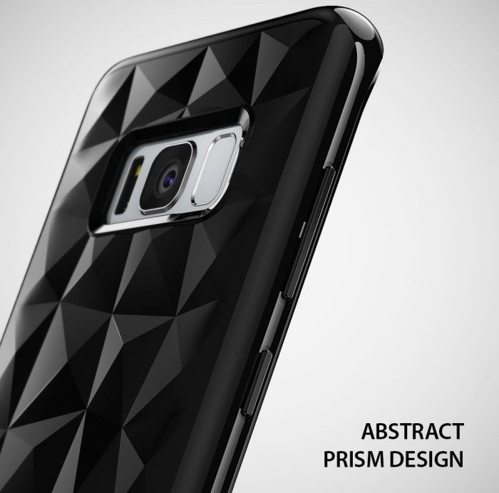 Husa Ringke Prism Ink Black pentru Samsung Galaxy S8 Plus 3