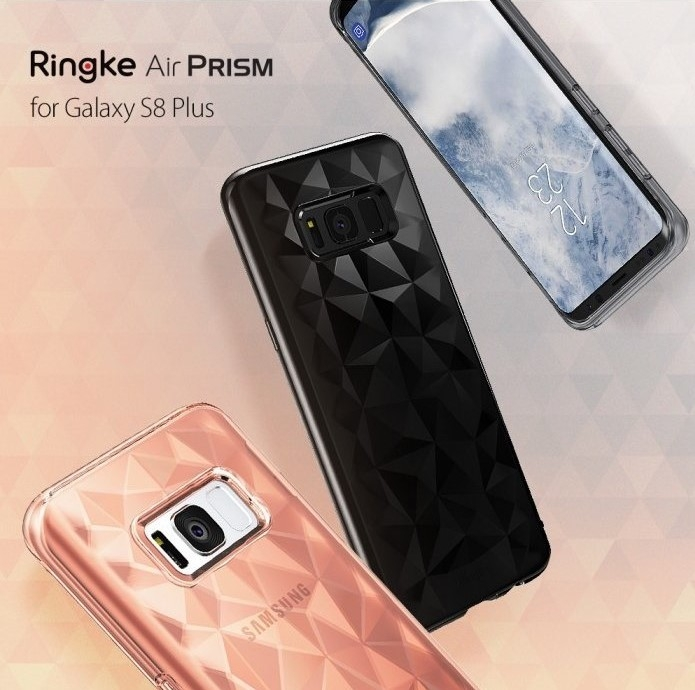 Husa Ringke Prism Rose Gold pentru Samsung Galaxy S8 Plus 6