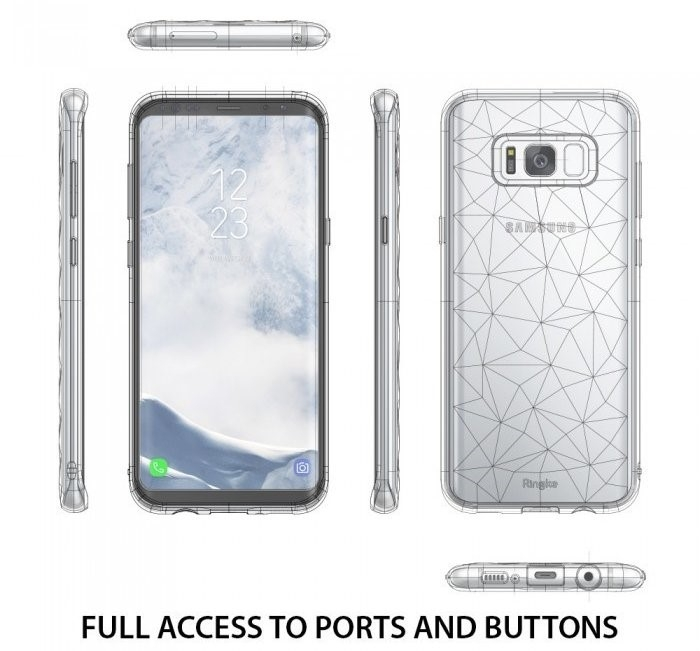Husa Ringke Prism Rose Gold pentru Samsung Galaxy S8 Plus 2