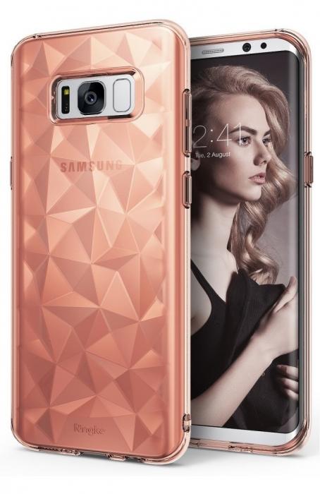 Husa Ringke Prism Rose Gold pentru Samsung Galaxy S8 Plus 0